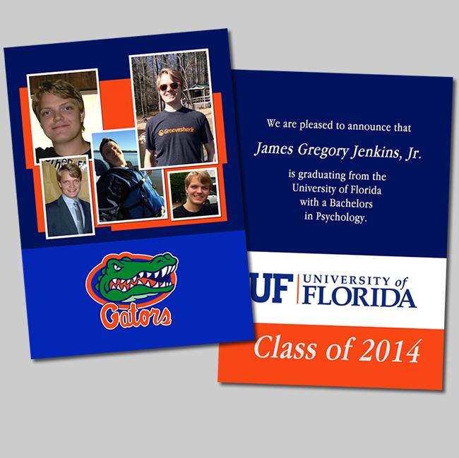university-of-florida-graduation-announcment