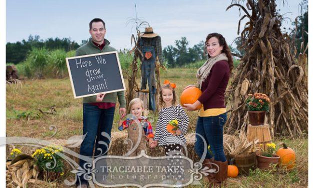 Here we grow again! Fall Family Photoshoot