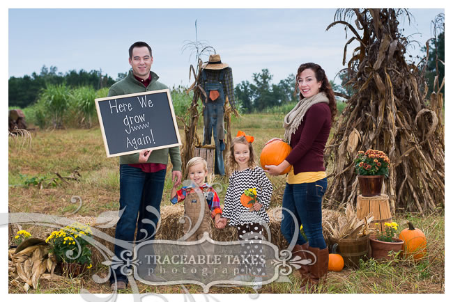 Here we grow again! Fall Family Photoshoot