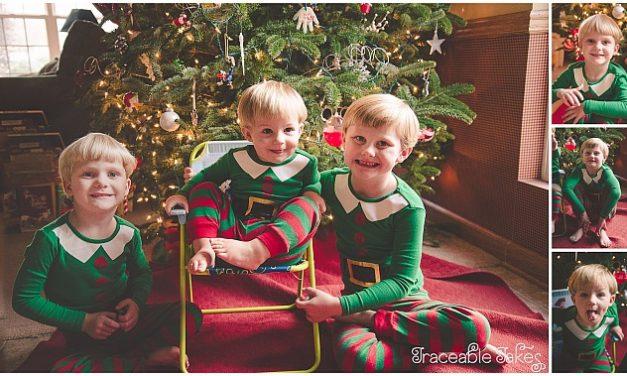 Merry Christmas from the Bridges boys