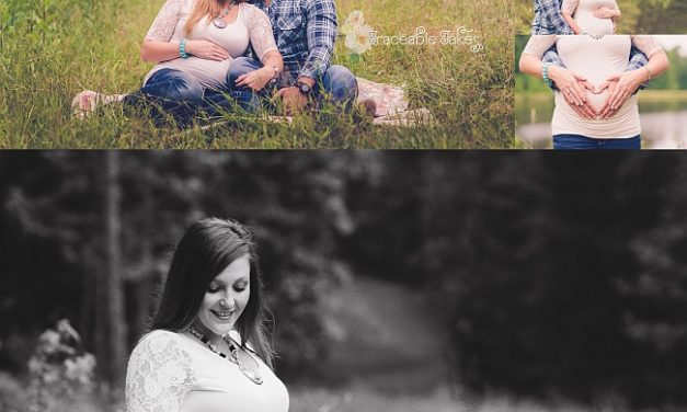 Maternity photos – Waiting for Brinley
