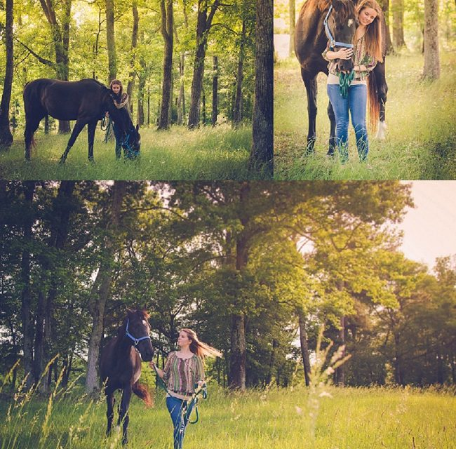 Samantha & her horse :: Senior 2016