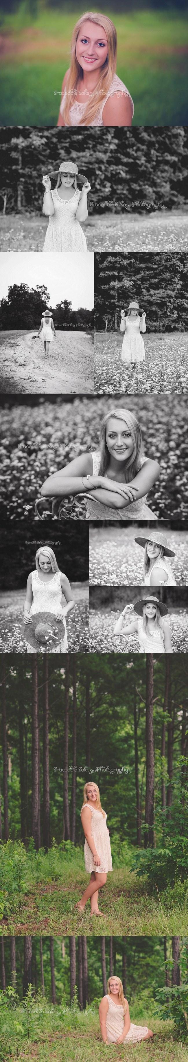 Sara Tomlin's Senior Portraits. Harris County, GA