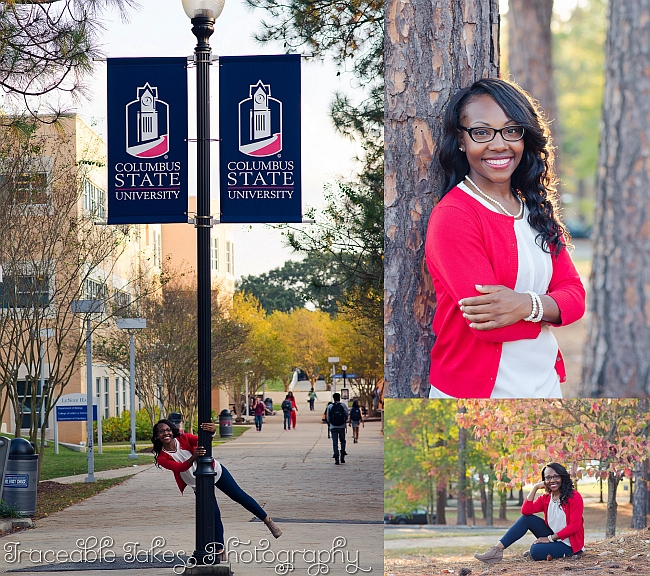 Maya – a hard working, single mom, graduating from college
